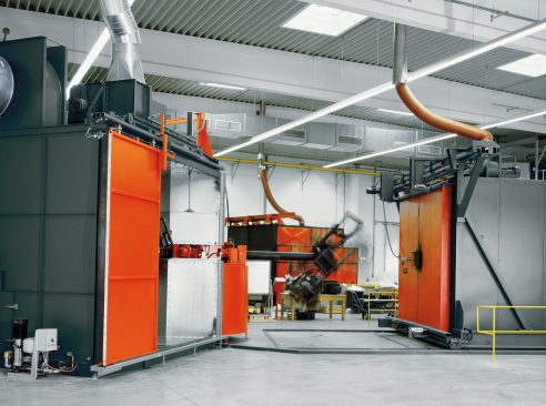 Rotation moulding systems