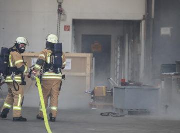 Feuerwehrprobe Industrieofenbauer Reinhardt GmbH