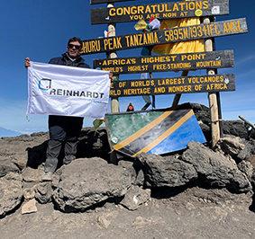 Reinhardt auf Kilimandscharo