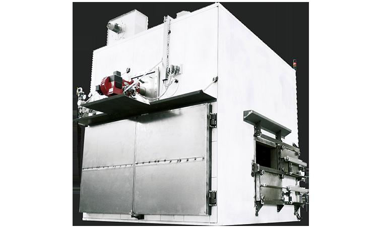 转盘式工业炉